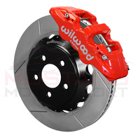 Wilwood 2015-20 6-Piston Front Brakes with Slotted Rotors (Red)