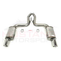 "JBA 2015-17 5.0L V8 3"" Axle Back Exhaust"