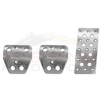Steeda 2015-19 Billet Pedal Kit - Manual