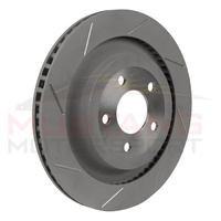 "Steeda 2015-19 13"" Slotted Rear Brake Rotors (Pair)"