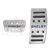 Shelby 2005-19 Billet Pedal Covers Set - Automatic