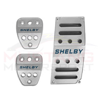 Shelby 2015-20 Billet Pedal Covers Set - Manual