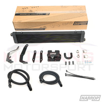 Harrop 2015-19 5.0L V8 Oil Cooler Kit (Supercharger Compatible)