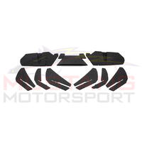 2015-17 Flow Designs Mustang Rear Diffuser Kit