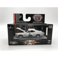 M2 Machines 1970 Ford Mustang Boss 429 Model Car White