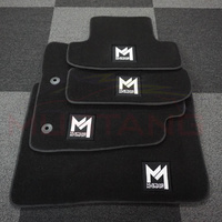 Mustang Motorsport 2015-19 Floor Mats 4pc Front & Rear Set