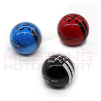 Genuine 2015-20 Shift Knob Running Pony & Rally Stripes